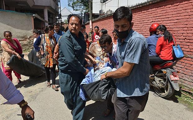 Nepal rung chuyen vi dong dat 7,3 do Richter hinh anh