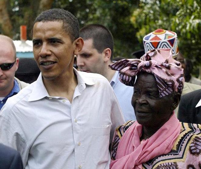 Ba noi len ke hoach don Obama tai Kenya hinh anh
