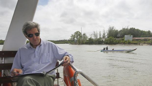 Nhung lan Ngoai truong My John Kerry toi Viet Nam hinh anh