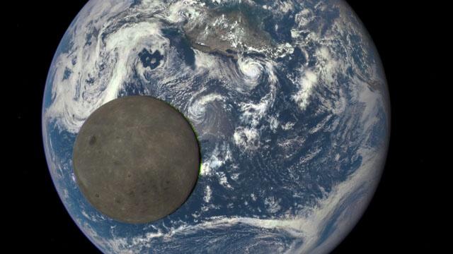 NASA chup hinh mat toi cua Mat trang hinh anh