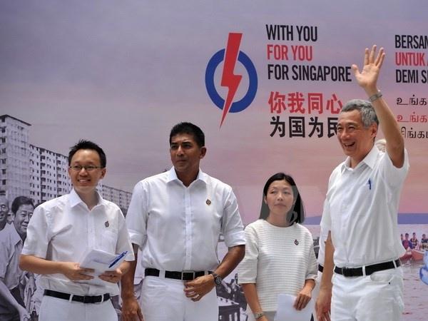 Singapore cam ket chuyen giao lanh dao than trong, tich cuc hinh anh 1