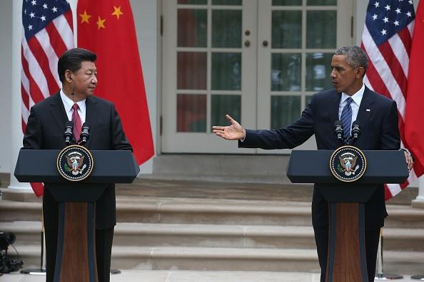 Bien Dong nong trong hoi dam Obama - Tap Can Binh hinh anh