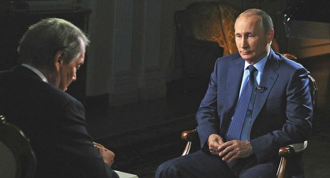Tong thong Putin: Nga se ngan tham canh Libya o Syria hinh anh