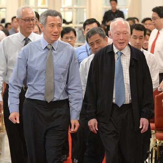 Thu tuong Singapore gan gui tren Facebook hinh anh 3