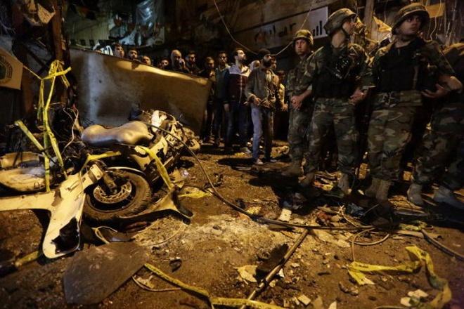 IS danh bom kep o Lebanon, 41 nguoi thiet mang hinh anh 1