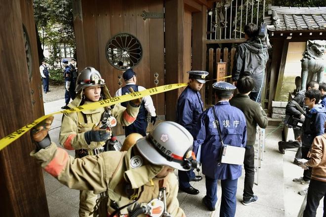 No tai den Yasukuni cua Nhat Ban hinh anh