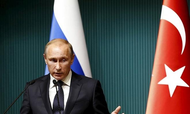 Putin ky lenh trung phat kinh te Tho Nhi Ky hinh anh