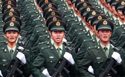 Trung Quoc tap trung phan lon quan doi o phia tay hinh anh