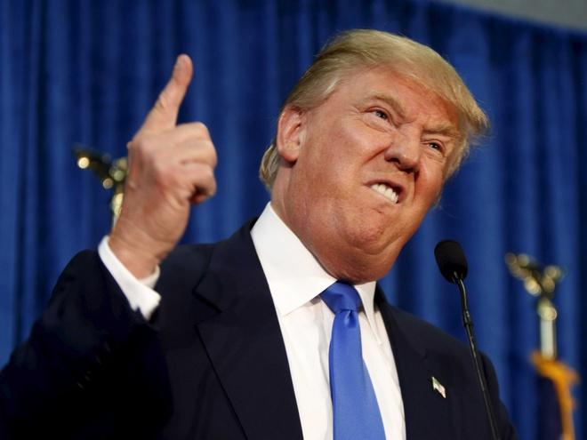 Donald Trump goi doi thu la ke doi tra hinh anh