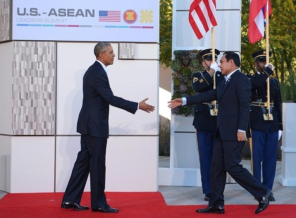 Cac nha lanh dao du Hoi nghi 'khong ca vat' My - ASEAN hinh anh 3