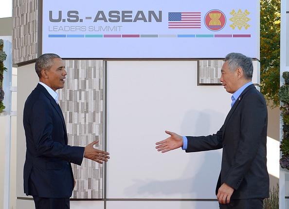 Cac nha lanh dao du Hoi nghi 'khong ca vat' My - ASEAN hinh anh 5