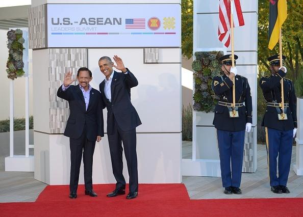 Cac nha lanh dao du Hoi nghi 'khong ca vat' My - ASEAN hinh anh 10