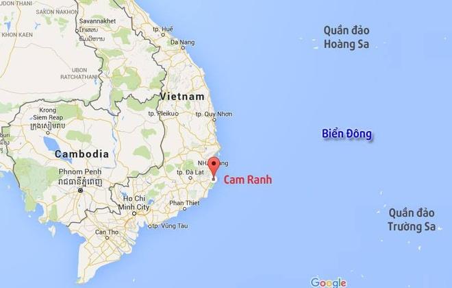 Tau chien Nhat co the vao cang Cam Ranh trong thang 4 hinh anh 1