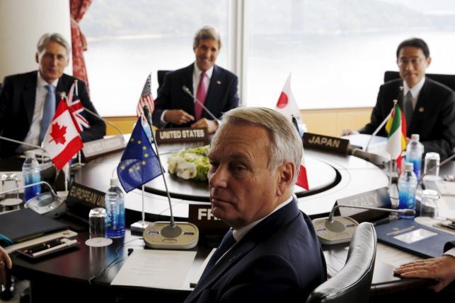 Nhat Ban quyet dua Bien Dong vao hoi nghi ngoai truong G7 hinh anh