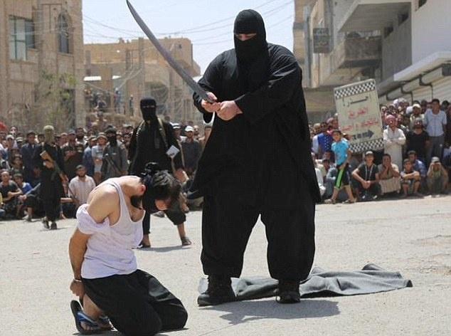 IS hanh quyet cong khai gan 50 nguoi o Libya hinh anh