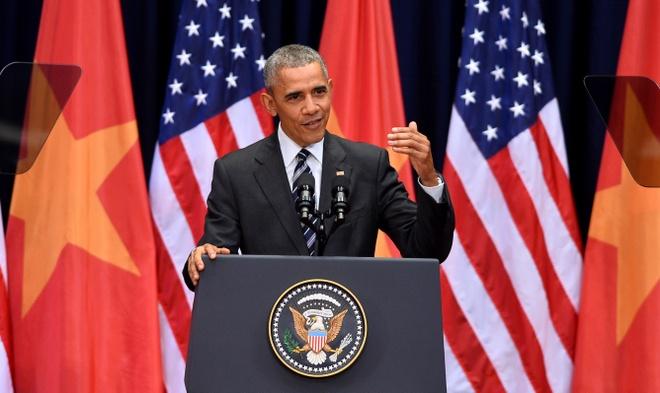 Nhung cau noi binh di cua Obama trong chuyen tham VN hinh anh