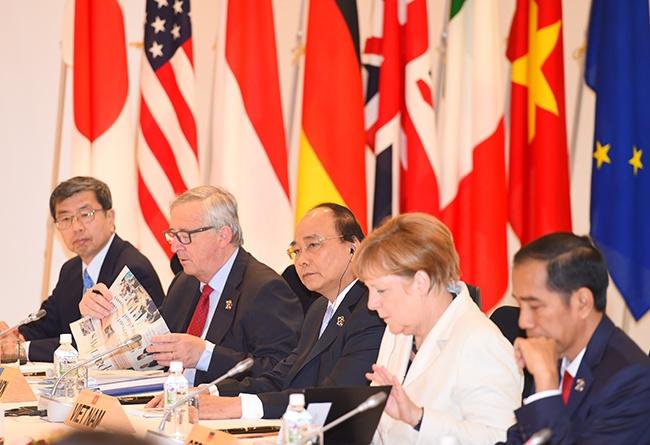 Thu tuong Nguyen Xuan Phuc du Hoi nghi G7 mo rong anh 1