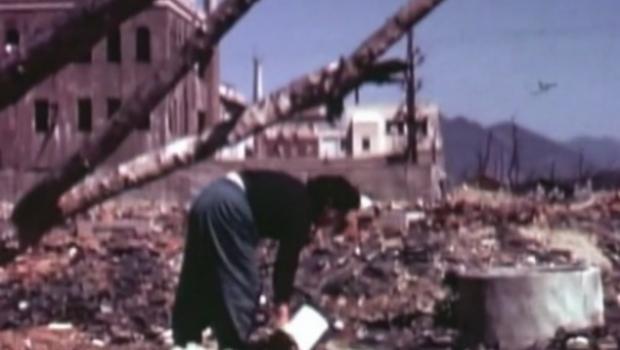 Video hiem ve Hiroshima sau ngay bi doi bom nguyen tu hinh anh