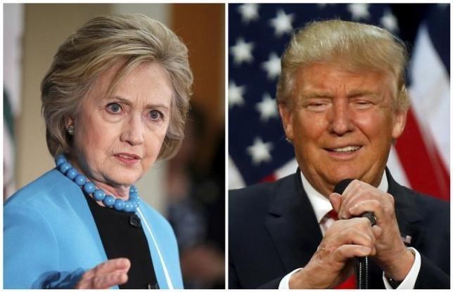Clinton vuot Trump trong cuoc dua vao Nha Trang hinh anh