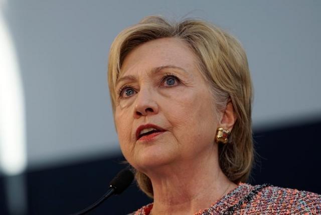 Ba Clinton bi FBI tham van vi be boi su dung mail ca nhan hinh anh
