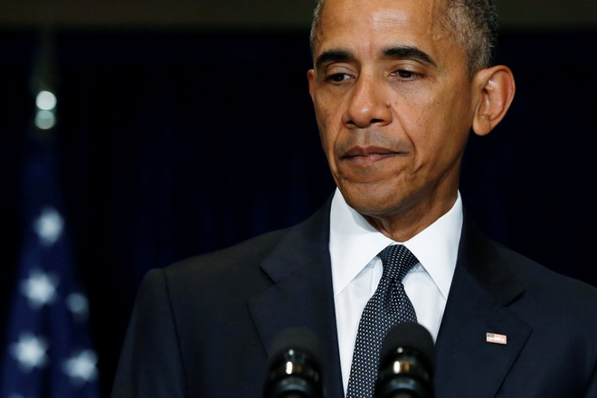 Obama goi vu ban canh sat o Dallas la 'cuoc tan cong hen ha' hinh anh 1