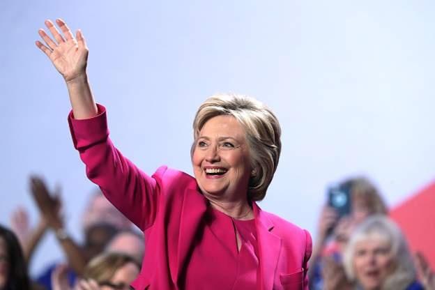 Ba Hillary Clinton sap nhan de cu ung vien tong thong hinh anh 1