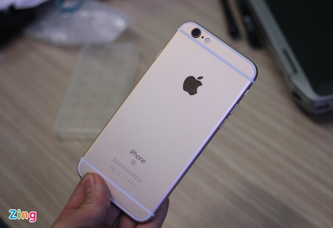 iPhone 6S dung ruot 5S co 3D Touch o Sai Gon hinh anh 2