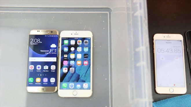 Galaxy S7 edge so do ben voi iPhone 6S Plus hinh anh 5