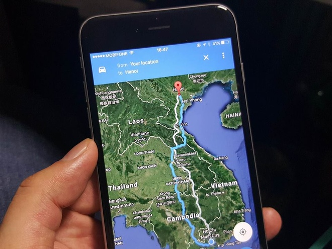 Google Maps chi duong sai o Viet Nam hinh anh