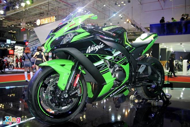 Thu tieng po sieu moto Kawasaki Ninja ZX-10R 2016 o VN hinh anh