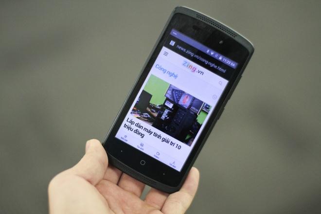 Smartphone An Do gia 900.000 dong den Viet Nam hinh anh