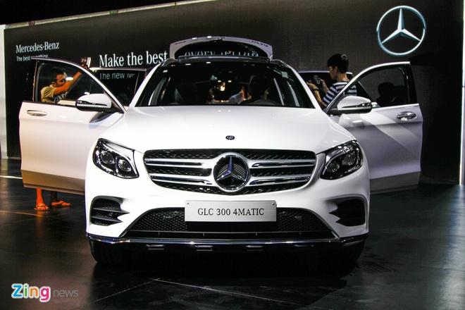 Mercedes trinh lang GLC 2016 gia tu 1,7 ty tai VN hinh anh 2