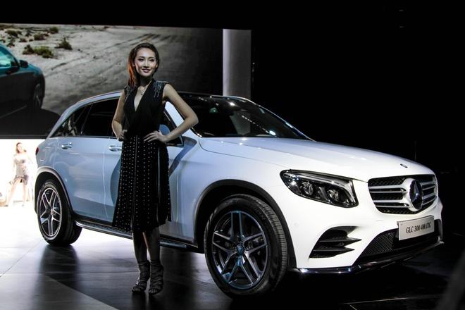 Mercedes trinh lang GLC 2016 gia tu 1,7 ty tai VN hinh anh