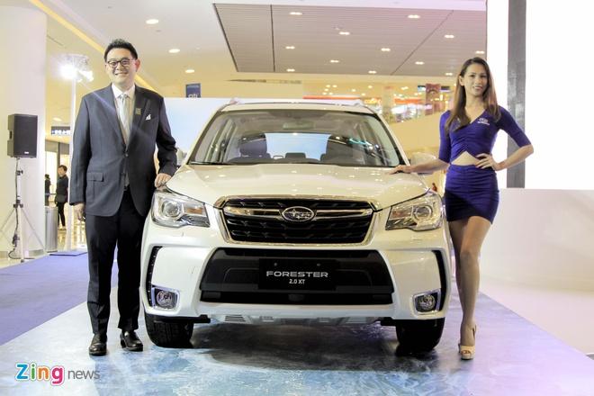 Subaru Forester 2016  ve Viet Nam, gia tu 1,4 ty hinh anh 1