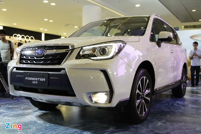 Anh thuc te Subaru Forester 2.0XT gia 1,6 ty vua ve VN hinh anh 9