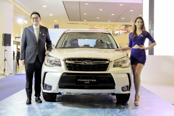 Subaru Forester 2016  ve Viet Nam, gia tu 1,4 ty hinh anh