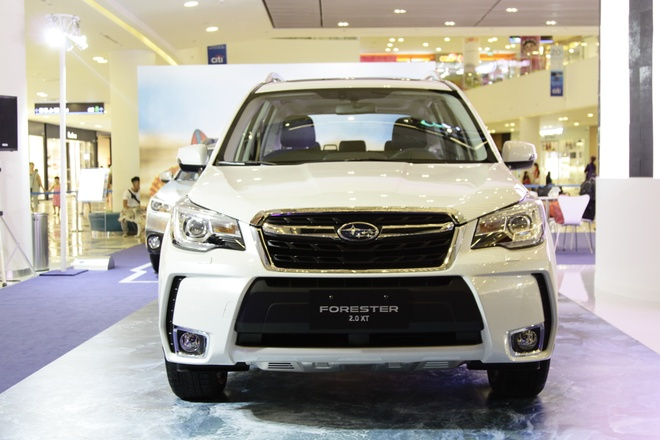 Anh thuc te Subaru Forester 2.0XT gia 1,6 ty vua ve VN hinh anh