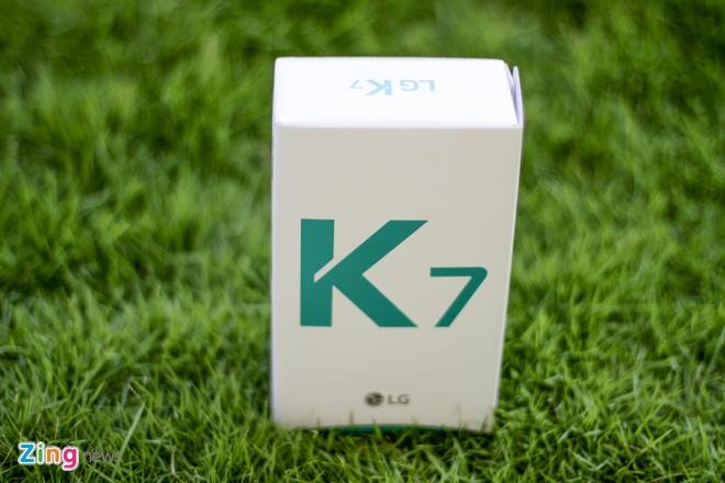 Mo hop LG K7 gia 2,6 trieu tai Viet Nam hinh anh 1