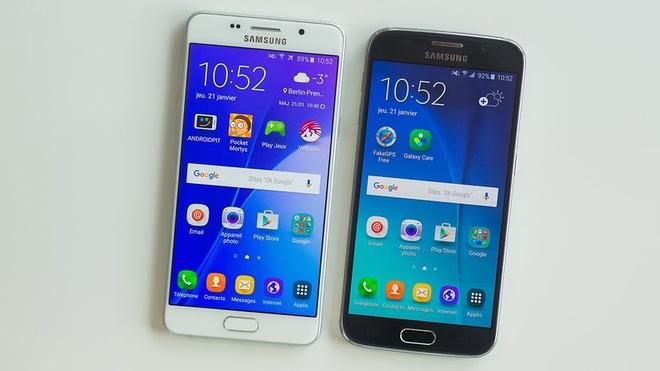 So sanh iPhone SE voi Galaxy A5 hinh anh 1