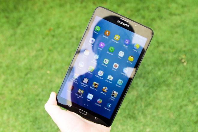 Samsung Galaxy Tab A6: Thiet ke vua tay, cau hinh kha hinh anh 1