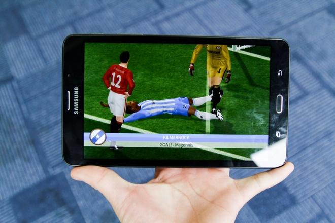 Samsung Galaxy Tab A6: Thiet ke vua tay, cau hinh kha hinh anh 2