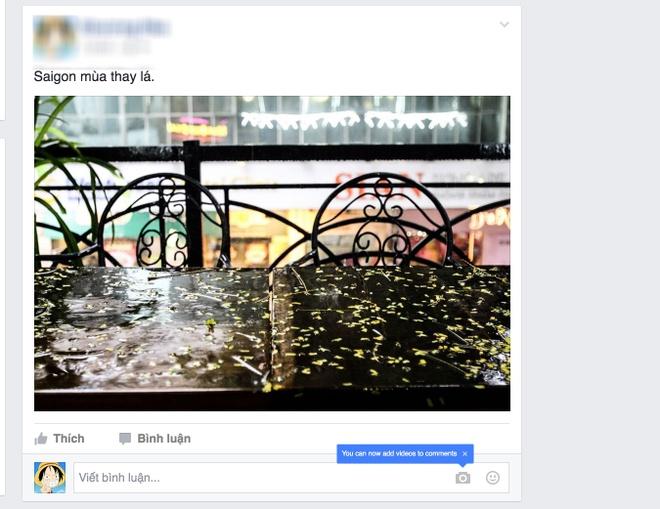 Binh luan bang video tren Facebook anh 1