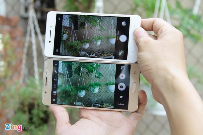 Samsung Galaxy J5 2016 do Oppo F1: Dong gia 5,5 trieu dong hinh anh 6
