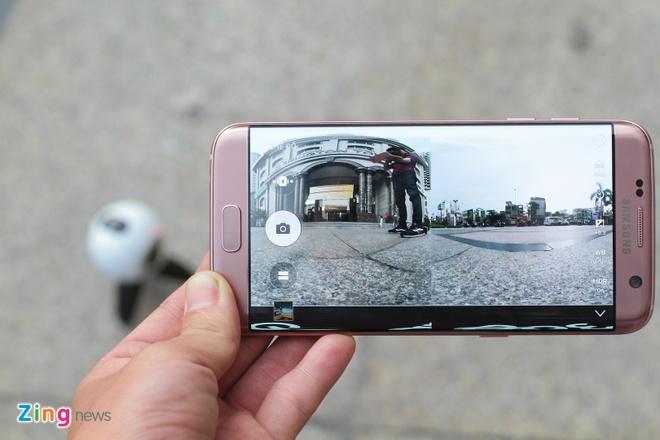 Mo hop Samsung Gear 360 gia 6,9 trieu dong tai Viet Nam hinh anh 12