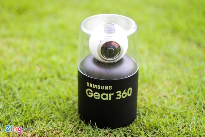 Mo hop Samsung Gear 360 gia 6,9 trieu dong tai Viet Nam hinh anh 1