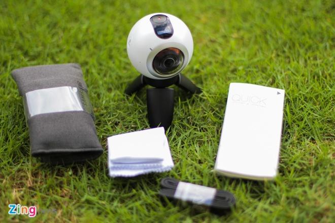 Mo hop Samsung Gear 360 gia 6,9 trieu dong tai Viet Nam hinh anh 2