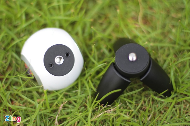 Danh gia Samsung Gear 360: Thiet ke dep, anh 360 do an tuong hinh anh 2