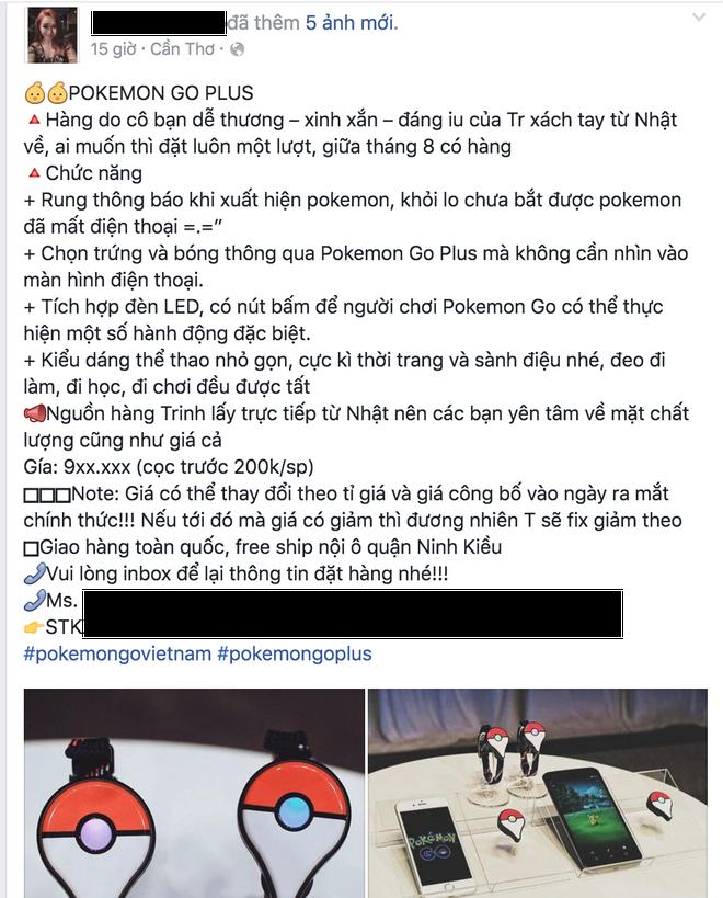 Pokemon Go Plus rao ban o Viet Nam, gia tu 800.000 dong hinh anh 1
