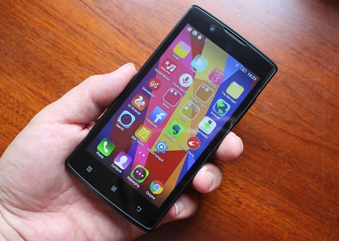 Smartphone 4G gia re, anh 1
