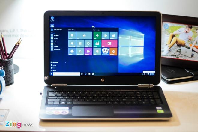 Laptop xoay gap 360 do ve Viet Nam, gia 12,9 trieu dong hinh anh 12